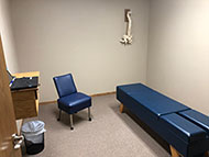 chiropractic adjustment room